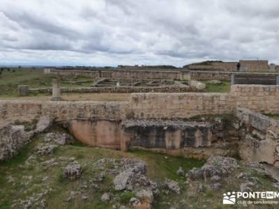 Yacimiento Clunia Sulpicia - Desfiladero de Yecla - Monasterio Santo Domingo de Silos - sauna y bañ
